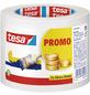 TESA Kreppband, PROMO, 50 m x 30 mm, 3 Stk., Transparent-Thumbnail