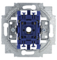 BUSCH-JAEGER Kreuzschalter-Einsatz, Kunststoff   Metall, Silber-Thumbnail