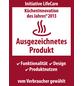 WENKO Küchenrollenhalter, Höhe: 11 cm, silberfarben-Thumbnail
