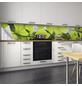 mySPOTTI Küchenrückwand-Panel, fixy, Blätter, 450x60 cm-Thumbnail