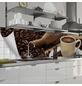 mySPOTTI Küchenrückwand-Panel, fixy, Kaffebohnen und Tasse, 280x60 cm-Thumbnail