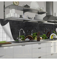 mySPOTTI Küchenrückwand-Panel, fixy, Kräuter auf Tafel, 220x60 cm-Thumbnail