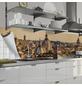 mySPOTTI Küchenrückwand-Panel, fixy, Stadtpanorama, 220x60 cm-Thumbnail