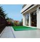 Kunstrasen, Breite: 133 cm, Florhöhe: 2 mm, grün, UV-beständig-Thumbnail