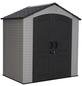 LIFETIME Kunststoffhaus, B x T x H: 206 x 140 x 228 cm-Thumbnail