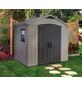 KETER Kunststoffhaus »Factor 8x6«, Außenmaß Breite: 256,5 cm, Kunststoff-Thumbnail