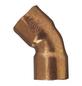 CORNAT Kupferbogen, 45°, 22 mm, 2 Muffen-Thumbnail