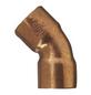 CORNAT Kupferbogen, 45°, 28 mm, 2 Muffen-Thumbnail