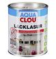 CLOU Lack-Lasur »AQUA«, für innen, 0,75 l, Dunkelnussbraun, seidenmatt-Thumbnail