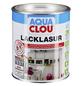 CLOU Lack-Lasur »AQUA«, für innen, 0,75 l, weiß, seidenmatt-Thumbnail