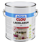 CLOU Lack-Lasur »AQUA«, für innen, 2,5 l, weiß, seidenmatt-Thumbnail