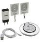 2GO Ladestation, Weiß, Micro-USB, Apple Lightning 8 Pin-Thumbnail
