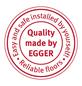 EGGER Laminat »Aqua+«, 8 Stk./1,99 m², 8 mm,  Perganti Nussbaum braun-Thumbnail