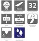 EGGER Laminat »EGGER HOME Aqua+ Laminat«, B x L: 193 x 1291 mm, Creston Eiche natur-Thumbnail