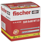 FISCHER Langschaftdübel, SXR, Metall   Nylon, 25 Stück, 8 x 60 mm-Thumbnail