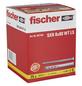 FISCHER Langschaftdübel, SXR, Metall   Nylon, 25 Stück, 8 x 80 mm-Thumbnail
