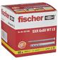 FISCHER Langschaftdübel, SXR, Metall | Nylon, 50 Stück, 6 x 60 mm-Thumbnail