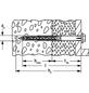 FISCHER Langschaftdübel, SXRL, Nylon, 1 Stück, 14 x 160 mm-Thumbnail
