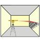 BRUEDER MANNESMANN WERKZEUGE Laser-Wasserwaage Gelb 53 Cm-Thumbnail