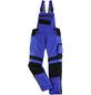BULLSTAR Latzhose EVO Polyester/Baumwolle kornblumenblau/schwarz Gr. 54-Thumbnail