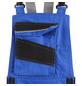 BULLSTAR Latzhose EVO Polyester/Baumwolle kornblumenblau/schwarz Gr. 56-Thumbnail
