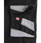 BULLSTAR Latzhose EVO Polyester/Baumwolle schwarz/grau Gr. 58-Thumbnail