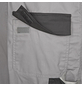 SAFETY AND MORE Latzhose EXTREME Polyester/Baumwolle grau/schwarz Gr. L-Thumbnail