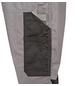 SAFETY AND MORE Latzhose EXTREME Polyester/Baumwolle grau/schwarz Gr. M-Thumbnail