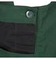 SAFETY AND MORE Latzhose EXTREME Polyester/Baumwolle grün/schwarz Gr. XL-Thumbnail