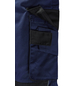 SAFETY AND MORE Latzhose EXTREME Polyester/Baumwolle marine/schwarz Gr. XL-Thumbnail