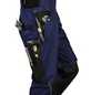 SAFETY AND MORE Latzhose EXTREME Polyester/Baumwolle marine/schwarz Gr. XXL-Thumbnail