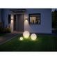 PAULMANN LED-Außenleuchte »Plug & Shine Globe«, 6,5 W, dimmbar, IP67, warmweiß-Thumbnail