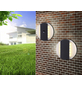 GLOBO LIGHTING LED-Außenwandleuchte »MOONLIGHT«, 11,6 W, IP44, warmweiß-Thumbnail
