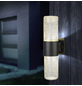 GLOBO LIGHTING LED-Außenwandleuchte »NINA«, 13,7 W, IP54, warmweiß-Thumbnail