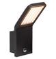 BRILLIANT LED-Außenwandleuchte »Panel«, 9 W, inkl. Bewegungsmelder, IP44, warmweiß-Thumbnail