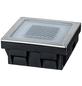 PAULMANN LED-Bodeneinbauleuchte »Outdoor Solar Cube«, 0,24 W, IP67, warmweiß-Thumbnail