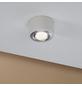 PAULMANN LED-Deckenleuchte aluminiumfarben 1-flammig, dimmbar, inkl. Leuchtmittel-Thumbnail