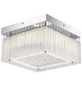 LED-Deckenleuchte »HEIDIR« chromfarben 1-flammig, inkl. Leuchtmittel in neutralweiß-Thumbnail