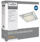 GLOBO LIGHTING LED-Deckenleuchte »LIANA«, Glas/Chrom-Thumbnail