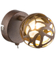 GLOBO LIGHTING LED-Deckenleuchte »OHIO« rostfarben 1-flammig, inkl. Leuchtmittel in warmweiß-Thumbnail