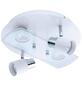 EGLO LED-Deckenleuchte »PAWEDO-SD«, GU10, dimmbar, inkl. Leuchtmittel in warmweiß-Thumbnail