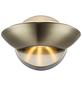 LED-Deckenleuchte »SAMMY« messingfarben 1-flammig, inkl. Leuchtmittel in warmweiß-Thumbnail