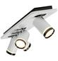 AEG LED-Deckenleuchte schwarz/weiss 4-flammig, dimmbar, inkl. Leuchtmittel-Thumbnail