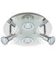 BRILONER LED-Deckenleuchte »Splash«, Metall/Glas-Thumbnail