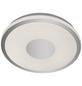 AEG LED-Deckenleuchte weiss/chromfarben 1-flammig, dimmbar, inkl. Leuchtmittel-Thumbnail