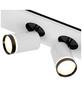 AEG LED-Deckenleuchte weiss/schwarz 2-flammig, dimmbar, inkl. Leuchtmittel-Thumbnail