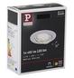 PAULMANN LED-Einbauleuchte »Coin«, dimmbar, Aluminium/Zink-Thumbnail