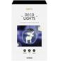 Krinner LED-Fensterbild »Lumix Deco Lights«, Elch, silberfarben, ø: 10 cm, Batteriebetrieb-Thumbnail