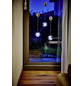 Krinner LED-Fensterbild »Lumix Deco Lights«, Glocken, silberfarben, ø: 10 cm, Batteriebetrieb-Thumbnail