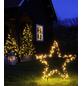 CASAYA LED-Gartenstecker »Garden d'light«, sternförmig, Höhe: 135 cm, Netzbetrieb-Thumbnail
